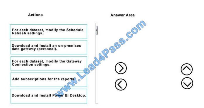 multiexam 70-778 exam question q9